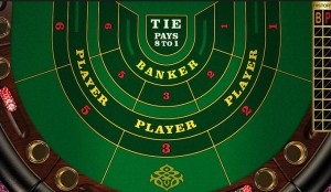 Martingale Betting Strategy for Baccarat