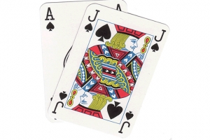 Martingale Betting Strategy for Blackjack