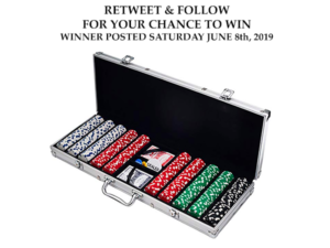Poker Chip Set Giveaway Contest
